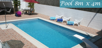 The Pool - Explorechiclana holiday rental Villas